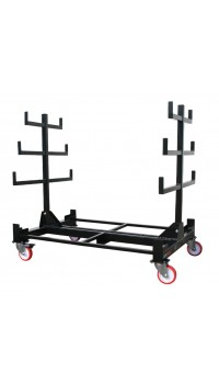 1T Heavy Duty Mobile Pipe Rack