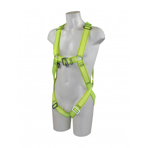 RGH5 Glow (Front & Rear D Rescue Harness with Rescue Point and Hi-Viz Webbing)