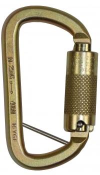 RGK15 - 12mm Steel Triple Action Karabiner with Captive Pin