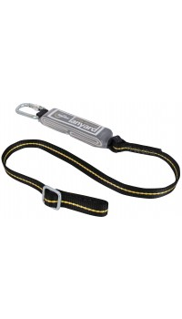 RGL13 (Single Leg Adjustable Webbing Lanyard & Shock Absorber)