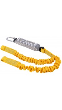 RGL9 (Twin Leg Elasticated Webbing Lanyard & Shock Absorber)