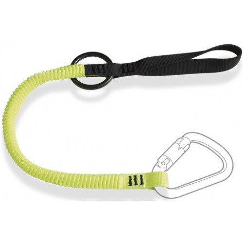 RTLE3 - Elastic Tool Lanyard with Choke Loop and Belt Attachment 'O' Ring