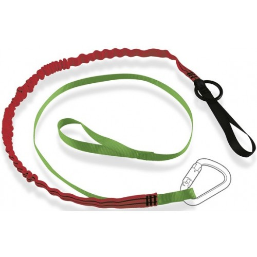 RTLK3 - Twin Kinetic® Tool Lanyard with Choke Loop and Belt Attachment 'O' Ring