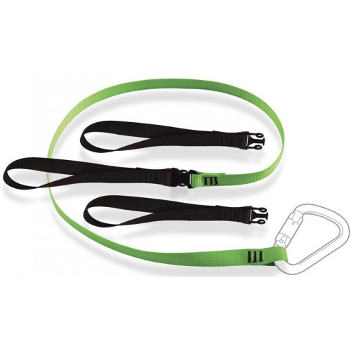 RTLS2 - Tool Lanyard with Clip Buckle and 3 Choke Loops