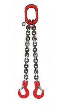 6mm 2 Leg Chain Sling