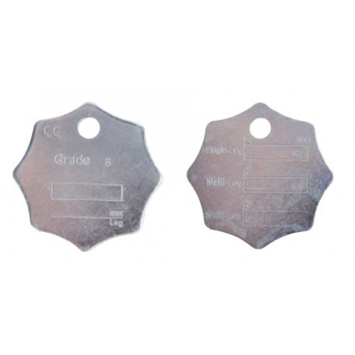 XNCTAGG08 Chain Sling Tags