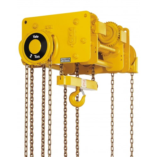 VNRP/VNRG Compact Low Headroom Trolley Hoist