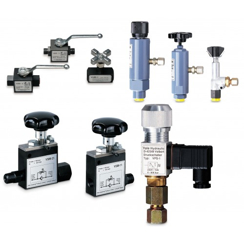 Yale VSM/VHM/VPR/VPS Valves & Pressure Switch