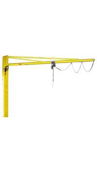 Electrically rotated jib cranes CBE/MBE series