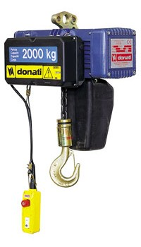 Electric chain hoist in fixed execution