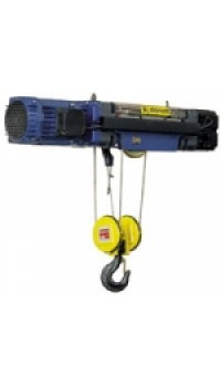 Electric wire rope hoist in fixed configuration