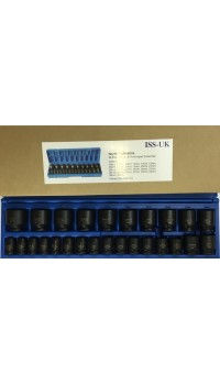 "1/2"" Drive Metric Impact Socket Set"