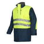 HI-Vis cold storage jacket