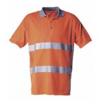 High-Vis T-shirt in double knits with reflective striping