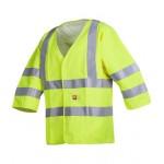 Flame retardant and anti-static hi-vis waistcoat