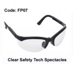 PROFORCE Clear Safety Tech Spectacles