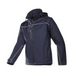 Laminated Soft Shell Jacket with Detachable Hood