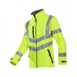 Hi-vis softshell jacket (2-layer)