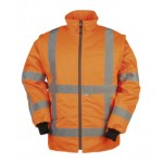 Hi-vis Bomber with detachable sleeves (RWS)