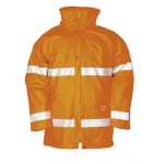Hi-vis Winter rain jacket
