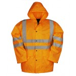 Hi-Viz Rain Jacket Monoray