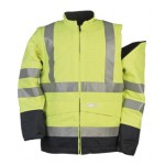 Flame Retardant Anti-Static Hi-Vis Bomber Jacket