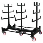 2T Heavy Duty Mobile Pipe Rack