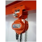 Tiger Combination Chain Block & Plain Trolley